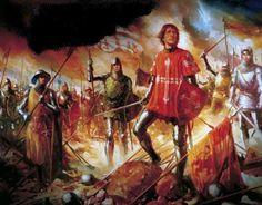 ALJUBARROTA 1385 - Portuguese army celebrates victory over Castilians (Spanish)