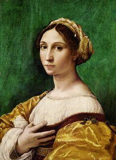 (Raphael) Raffaello Santi - Portrait of a Young Girl