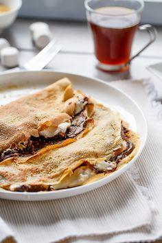 Cafe Delites   Nutella S'mores Crepes   http://cafedelites.com