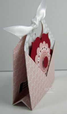 Pocket Fold tutorial - great for ghiradelli chocolates, junior mints, tea bags - treats bjl