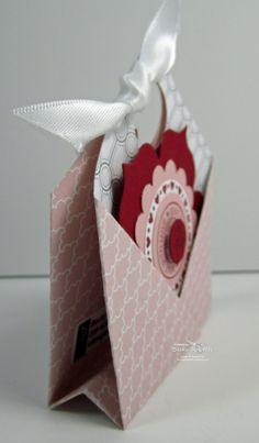 Pocket Fold tutorial - great for ghiradelli chocolates, junior mints, tea bags - treats bjl