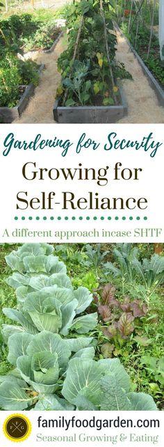 The Self-Reliance Garden - Family Food Garden