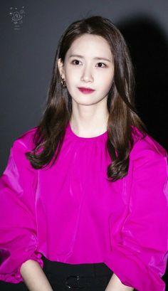 Im Yoon Ah, Yoona Snsd, Korean Star, Girls Generation, Womens Fashion, Female Fashion, Blouse, Long Sleeve, Beauty
