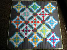 Urban Nine Patch Quilt (from Sew Kind of Wonderful)