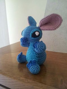 Amigurumi little Stitch From Lilo&Stitch