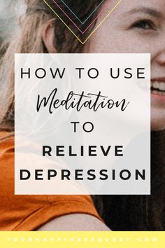 Meditation has many great benefits & it is free! Read on if you are a beginner to meditation or want to discover more benefits to meditation and how you can be happier. This article includes a step-by-step easy guide on how to use meditation to relieve de Beating Depression, Depression Recovery, How To Cure Depression, Fighting Depression, Overcoming Depression, Dealing With Depression, Overwhelmed By Life, Feeling Overwhelmed, Natural Remedies For Depression