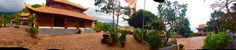 Panoramic photo Van son temple ,Con Dao archipelago island vietnam