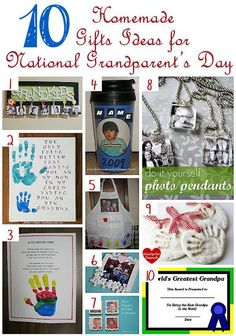 Did you know there is a National Grandparent's Day? While I know from experience a grandparent would love to get a homemade gift from their grandkids any time of the year, making them one for this ...