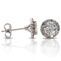 Diamond earrings-- 10th year anniversary