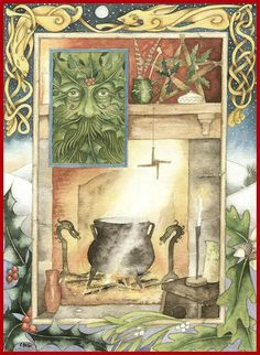 """Winter Solstice:  """"#Yuletide,"""" by  Christopher Bell, for the #Winter #Solstice."""