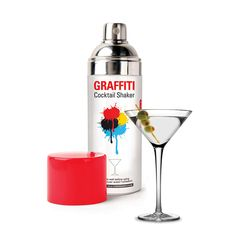 Graffiti Cocktail Shaker  by Kikkerland Design