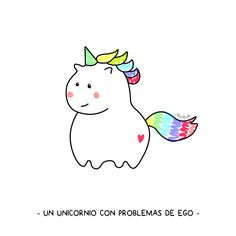 Unicornio Love ♥ #unicorn #rainbow