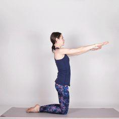 Thigh Stretch #pilates #workout #fitness https://greatist.com/move/mat-pilates-workout