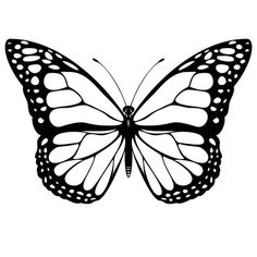 Print Monarch Butterfly Coloring Page coloring page & book. Your own Monarch Butterfly Coloring Page printable coloring page. With over 4000 coloring pages including Monarch Butterfly Coloring Page . Monarch Butterfly Tattoo, Butterfly Outline, Butterfly Stencil, Butterfly Clip Art, Butterfly Tattoo Designs, Butterfly Template, Printable Butterfly, Butterfly Pattern, Butterfly Wings