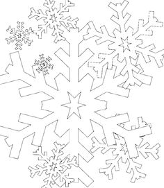 snowflake | Snowflake Coloring Pages Free | Find the Latest News ...