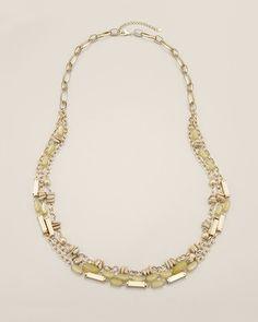 Chico's Fern Multi-Strand Necklace #chicos