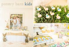 Children's Fanciful Easter Boy Girl Party Printables Planning Ideas