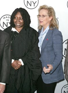 My All-Time Favorite Actresses, Whoopi Goldberg & Meryl Streep