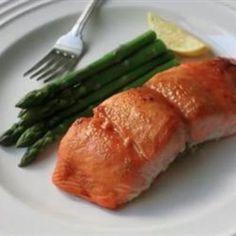 Miso Maple-Glazed Salmon (courtesy of @Arthurxdc )