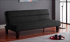 this essential home cruz futon bed measures w x d x h and sleeper dimensions are w x d x h  it has multi position back that lets you choose from a variety     futon couch sofa bed denis with storage place with click clack      rh   pinterest