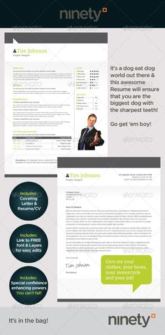 Buy Clean Resume/CV by ninetydegrees on GraphicRiver. This resume is clean and fresh. It comes in and US Letter sized .inx files for users. College Resume Template, Simple Resume Template, Resume Design Template, Creative Resume Templates, Cv Template, Print Templates, Cover Letter For Resume, Cover Letter Template, Cover Letters