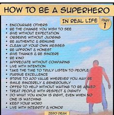 Always... Be a super hero - | Superhero Ideas | Pinterest ...