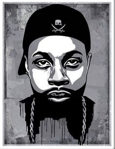 """""""J Dilla"""" by ABCNT   18x24"""" Graffiti Art Screen Print Limited Edition of 77 Available at YaDiGGiT Posters Shipping is FREE to our valued customers"""