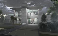 Hurricane image of The New American Home 2012 for the summer issue of MCBC magazine.