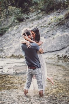 Waterfall love session