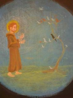 Age 08 ~ Saint Stories ~ St Francis and the birds