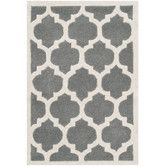 Found it at Wayfair - Chatham Dark Grey & Ivory Moroccan Area Rug Reviews indicate MUCH SHEDDING