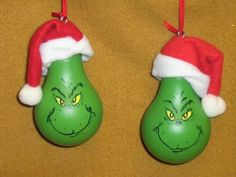 The Best DIY and Decor Place For You: Grinch Lightbulb For Christmas Decoration