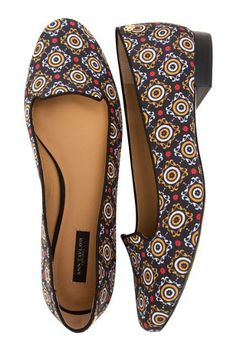 a perfect pair of printed loafers