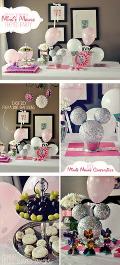 DIY Minnie Mouse Themed Party For Kids #disney #birthday #MinnieMouse
