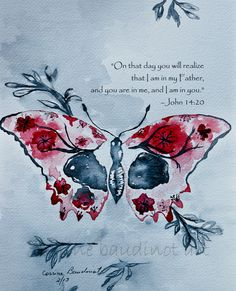 One day you will realize that I am in my Father, and you are in me, and I am in you. John 14:20