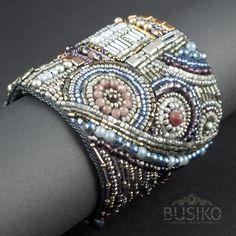 Stylish beaded bracelet Fashionable pearl cuff bracelet for woman BusikoUA Handmade beaded jewelry and accessories. Stylish beaded bracelet Fashionable pearl cuff bracelet for woman BusikoUA Handmade beaded jewelry and accessories. Bead Embroidered Bracelet, Embroidery Bracelets, Beaded Cuff Bracelet, Bead Embroidery Jewelry, Woven Bracelets, Beaded Brooch, Fabric Jewelry, Beaded Embroidery, Beaded Bracelets