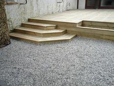 escalier en bois de 2.5mx1.2m