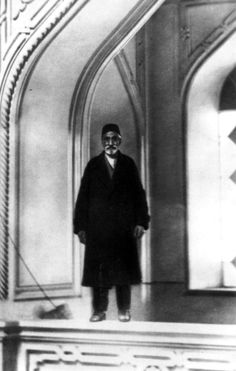 Ustad Muhammad Rida Yazdi, architect of the Ishqabad Mashriqu'l-Adhkár