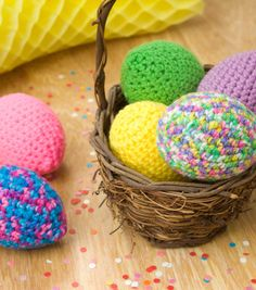 How To Knit Easter Eggs