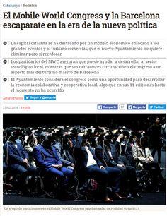 El Mobile World Congress y la Barcelona escaparate en la era de la nueva política / @catalunyaplural | #socialcities