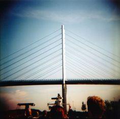 Stralsund Hafenrundfahrt (c) Lomoherz (2) Diana F+ #Rügenbrücke