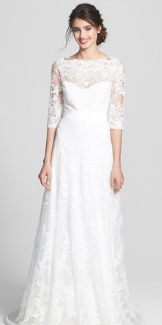 Timeless and elegant lace gown