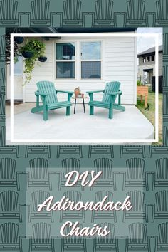 Amanda over at Love and Renovations built Adirondack chairs for her neighbor using our template! Read all about her gorgeous build here.  #createwithconfidence #adirondackchairbuild #loveandrenovations #diyadirondackchair #builditwithrockler