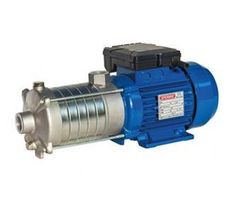 Speroni - RSX (M) 2 Horizontal Multistage Pumps by Speroni water pumps     RSXM2 are non self-priming, multi-stage, horizontal centrifugal pumps. They can develop high pressures and lifts from comparatively small motors and operate virtually silent, hence they are suitable for many domestic, industrial and horticultural applications. They are designed for pumping clean water only up to a maximum of 35ºC.