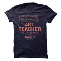 Art Teacher T-Shirts, Hoodies. CHECK PRICE ==► https://www.sunfrog.com/LifeStyle/Art-Teacher-61554064-Guys.html?id=41382