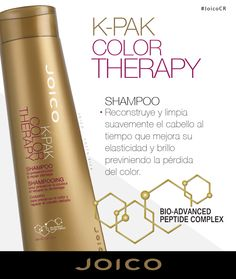 Shampoo K – PAK COLOR THERAPY  #JoicoCR #hairjoi #joico