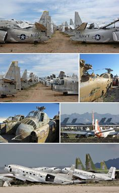 plane graveyard May all these proud old birds rust in peace Thank you for your service to our country