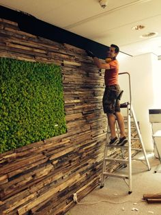 Need a new garden or home design? You're in the right place for decoration and remodeling ideas.Here you can find interior and exterior design, front and back yard layout ideas. Moss Wall Art, Metal Wall Decor, Wood Wall, 3d Wall Panels, Wood Panel Walls, Wall Cladding, Wood Design, Textured Walls, Living Room Decor