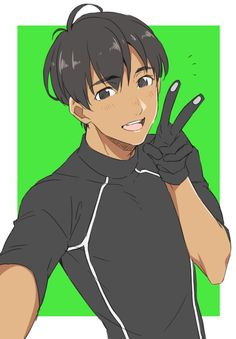 Can we take a moment to realize that Phichit has those little things on the fingertips of his gloves so that he can take selfies and post them on Instagram? Phichit is prepared.