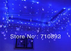 Aliexpress.com : Buy Blue Butterfly LED Holiday Festival LIGHTS STRING 100 LEDs 16 butterflies for PARTY,CHRISTMAS,WEDDING,BEDROOM Free shipping from Reliable butterfly birthday party supplies suppliers on BOSSON ELECTRONICS (HK) CO., LTD $12.99